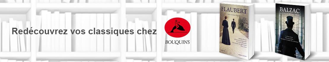 1805082  Bouquins : Flaubert et Balzac