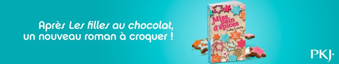 Bannière - PKJ - Les filles au chocolat Miss pain d'épices