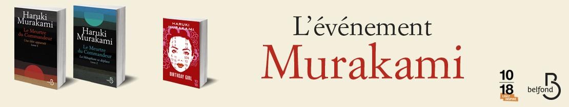 Murakami - Le meurtre du commandeur Livre 1 & 2