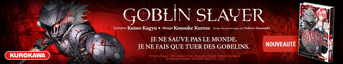 Bannière - Kurokawa - Goblin Slayer T3