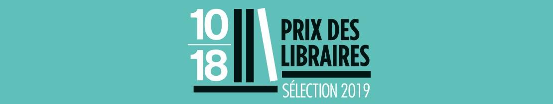 Bannière Prix des libraires 10/18 - page Lisez