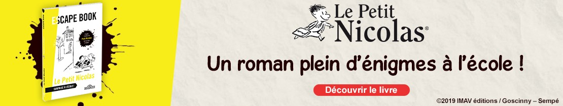 Escape book - Petit Nicolas - Surprise à l'école !