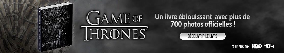 La photographie de Game of Thrones