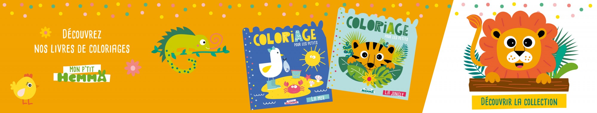 Mon P'tit Hemma - Coloriage (collection)