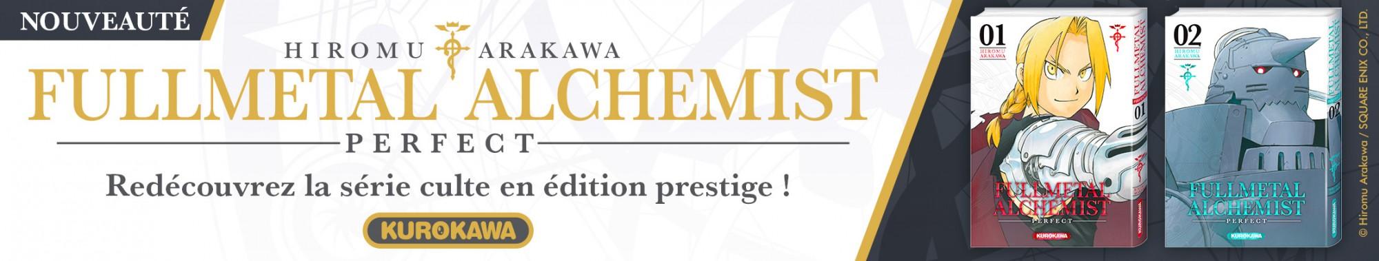 Bannière - Kurokawa - Fullmetal Alchemist Perfect T1+T2