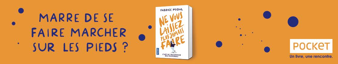 Bannière - Pocket -  Ne vous laissez plus jamais faire - Midal