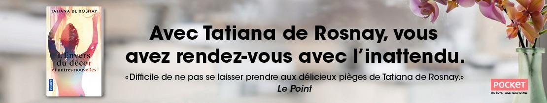 Bannière - POCKET - L'Envers du décor - Tatiana de ROSNAY
