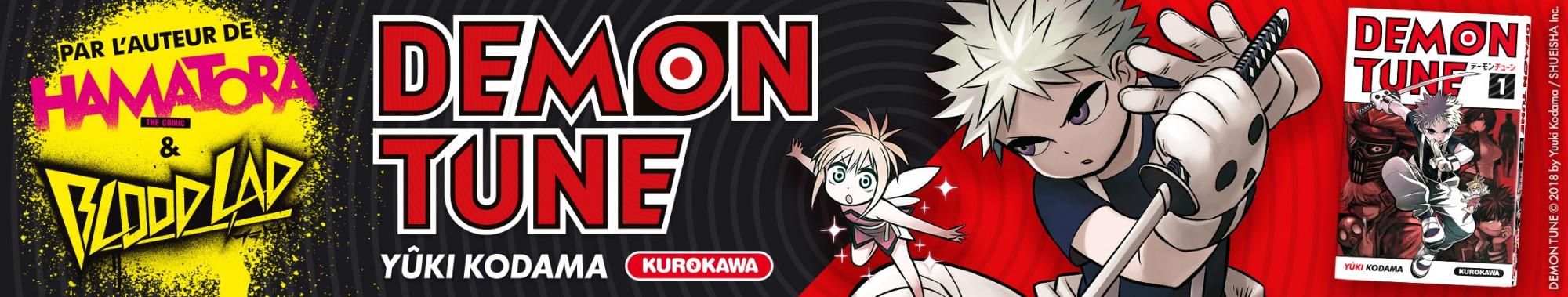 Bannière - KUROKAWA - Demon Tune - Tome 01
