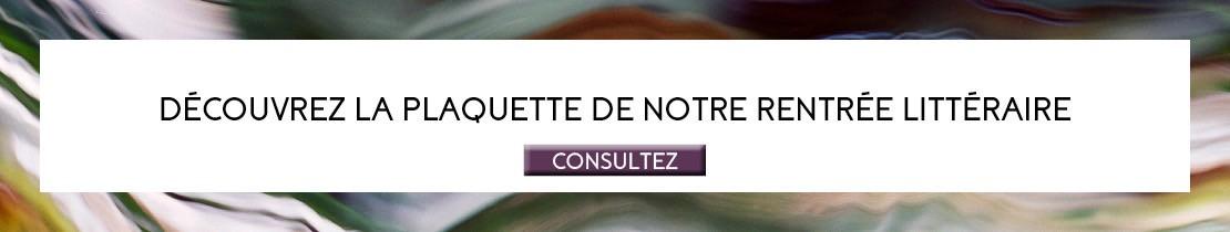 Rentrée littéraire Plon 2020 - Plaquette
