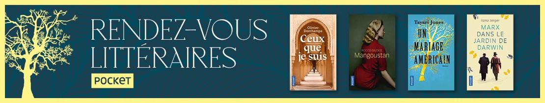 Bannière - POCKET - Les rdv littéraires 2020