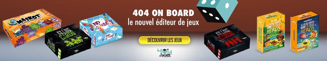 Jeux 404 ON BOARD - 2