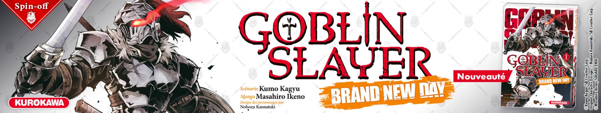 Bannière - KUROKAWA - Goblin Slayer - Brand New Day - T1