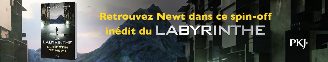 Bannière - PKJ - Le Labyrinthe : Le destin de Newt
