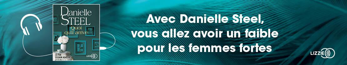 Bannière - LIZZIE - Quoi qu'il arrive - Danielle STEEL