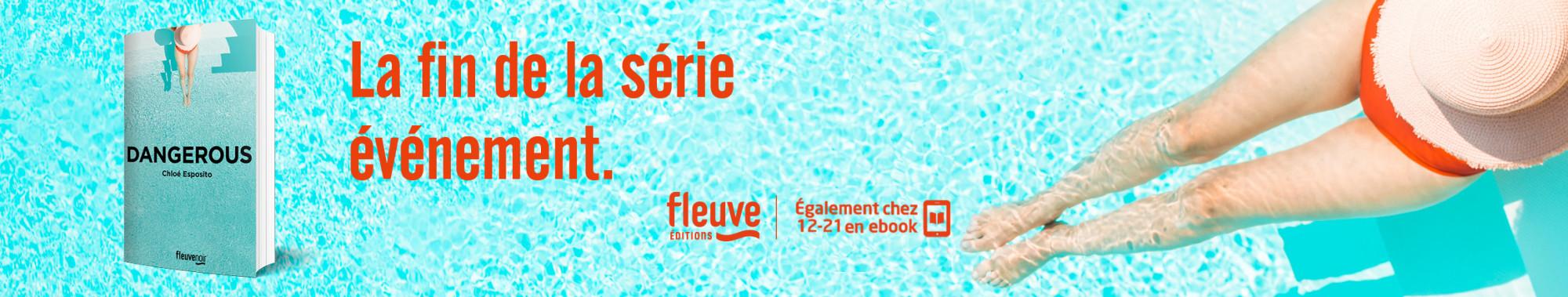 Bannière - FLEUVE - Dangerous - Chloe ESPOSITO