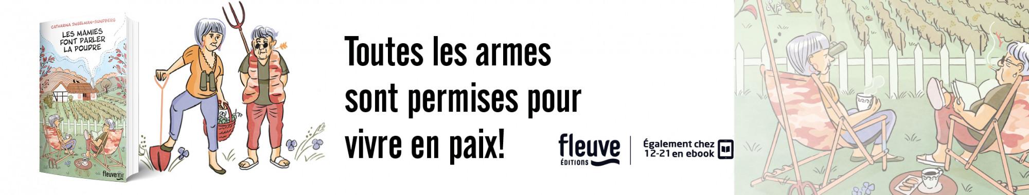 Bannière - FLEUVE - Les Mamies font parler la Poudre