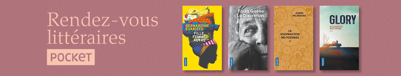 Bannière- Pocket - Rentrée littéraire 2021