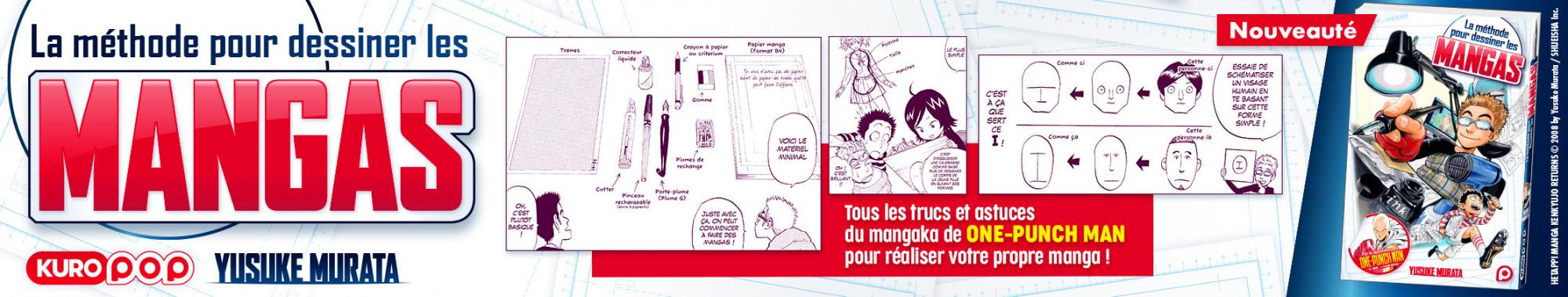 Slider - KUROKAWA - La méthode pour dessiner les mangas