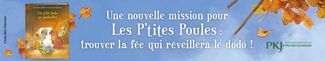 Bannière - PKJ - Les P'tites Poules - tome 19 : Un p'tit dodo au poulailler